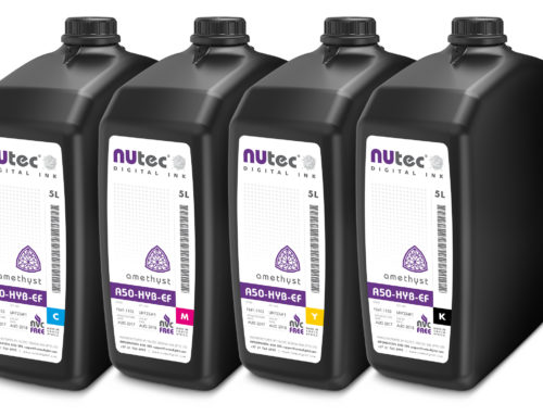 NUtec offers UV-curable alternative inks for EFI VUTEk
