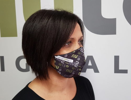 NUtec Digital's water-based ink makes colourful cloth masks